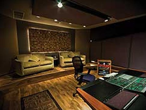 Recording Room at Studio West
